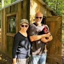 """<p>""""The Tots, Sugar and Tater, have taken up farming,"""" the <a href=""""https://www.instagram.com/p/CG5rKLjF-Ck/"""" rel=""""nofollow noopener"""" target=""""_blank"""" data-ylk=""""slk:country music icon wrote on Instagram"""" class=""""link rapid-noclick-resp"""">country music icon wrote on Instagram</a>, using their pet names and showing off their new chicken — aptly named Mr. Pecker. </p>"""