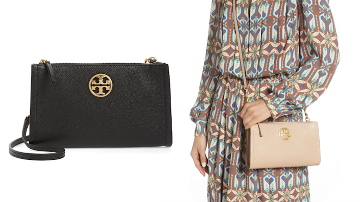 The Tory Burch Carson crossbody bag is easy to toss on and go.