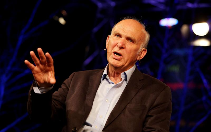 Former Business Secretary Vince Cable - Credit: Clara Molden for The Telegraph
