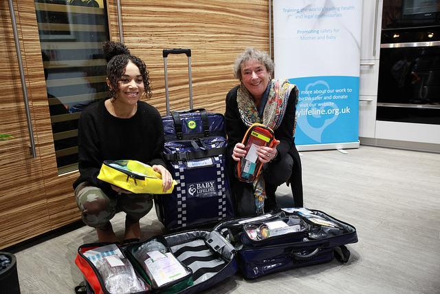 The new bags are to be trialled in April by sis NHS trusts [Photo: Lifeline.org.uk]