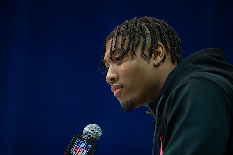 Clemson LB Isaiah Simmons had a great NFL combine. (Photo by Zach Bolinger/Icon Sportswire via Getty Images)