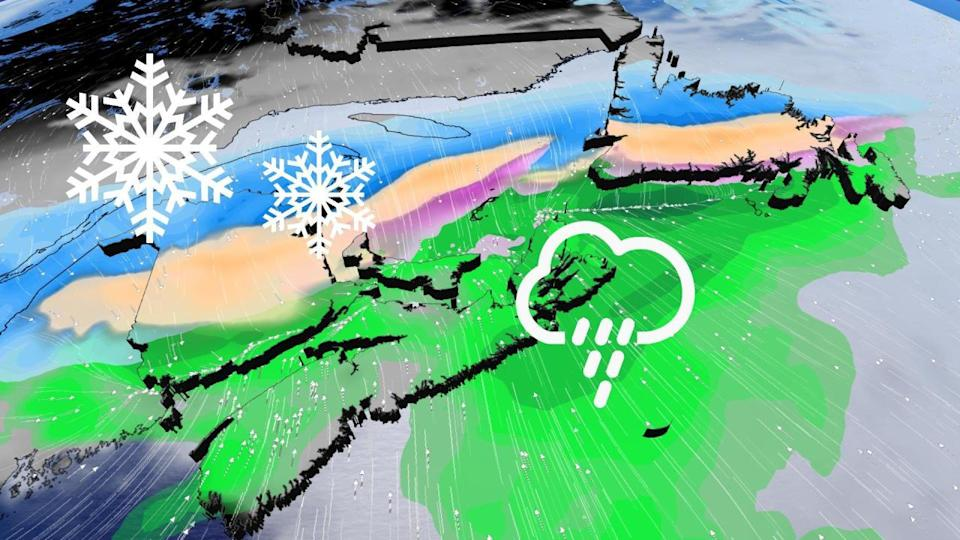 Harsh snap back into winter looms for parts of Atlantic Canada late week