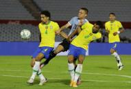 World Cup 2022 South American Qualifiers - Uruguay v Brazil
