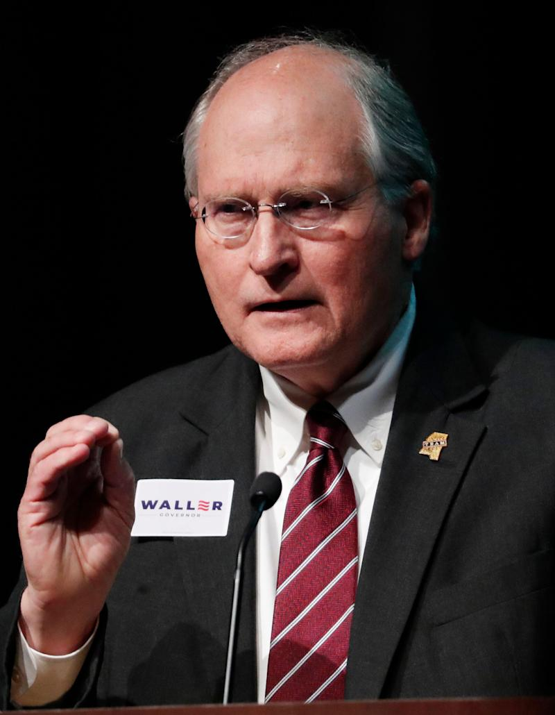 Former state Supreme Court Chief Justice Bill Waller Jr. at a forum in Starkville, Mississippi, on April 2. (Photo: ASSOCIATED PRESS)