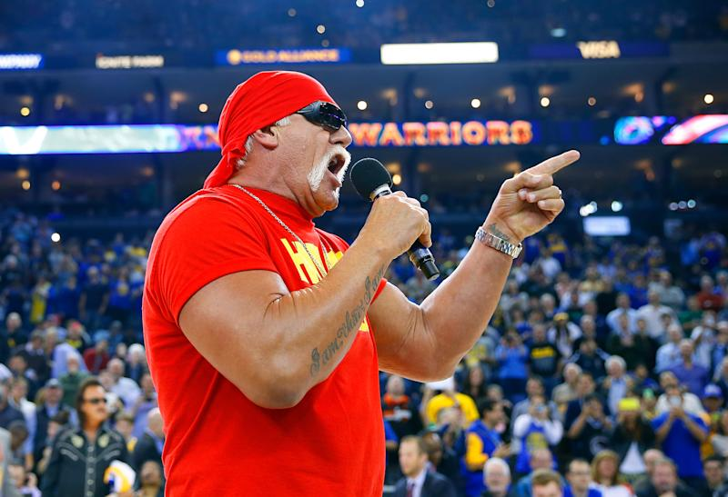 Hulk Hogan Opens WWE Crown Jewel