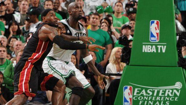 Kevin Garnett Celtics Broke Lebron James
