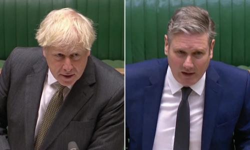 Keir Starmer accuses Boris Johnson of losing control of Covid crisis