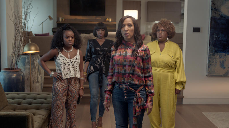 "The cast of ""A Black Lady Sketch Show"" (Photo: HBO)"