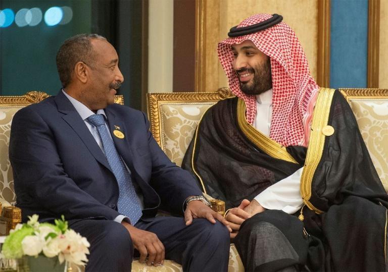 Burhan has maintained close relations with Gulf leaders, particularly Saudi Crown Prince Mohammed bin Salman, the architect of the kingdom's intervention in neighbouring Yemen to which Sudan has contributed large numbers of troops (AFP Photo/Bandar AL-JALOUD)