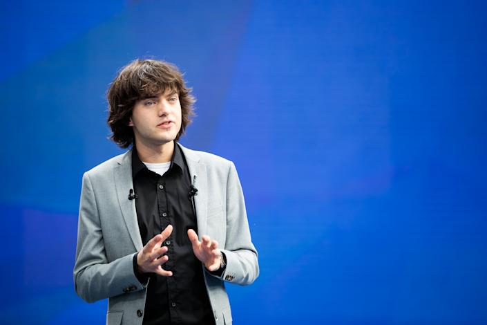 Boyan Slat, CEO of The Ocean Cleanup
