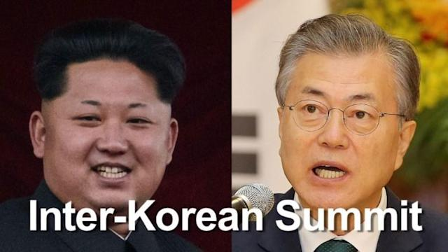 North Korean leader Kim Jong Un will walk across the Demilitarized Zone on 27 April for a historic summit with the South's President Moon Jae-in, the highest-level encounter yet in a whirlwind of nuclear diplomacy.