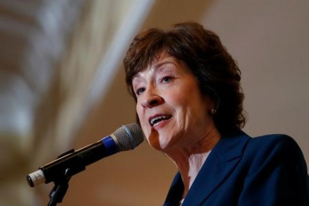 Republican Senator Collins likely 'yes' vote to advance tax reform