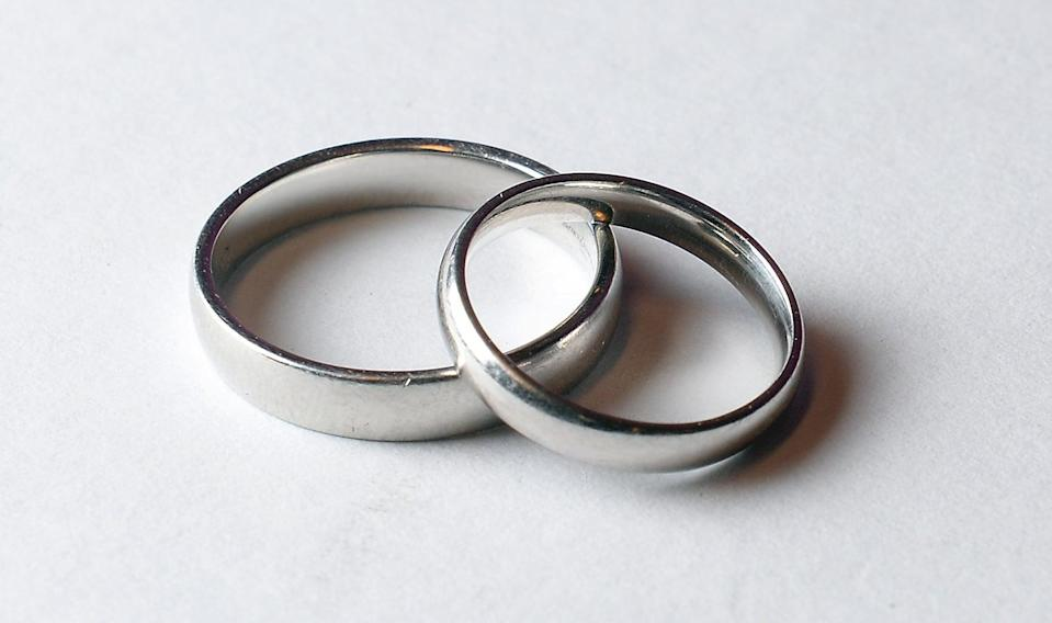 Wedding Rings (PA Archive)
