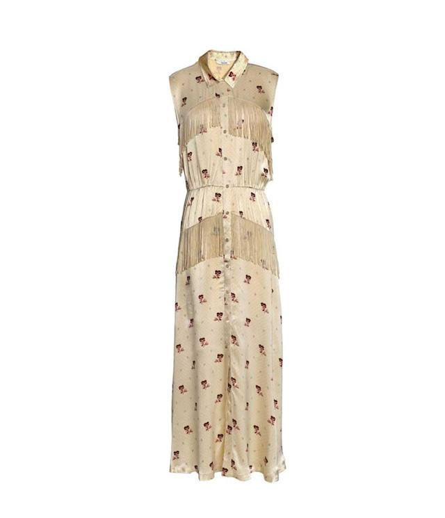 Western fringe dress. (Photo: Ganni/The Outnet)