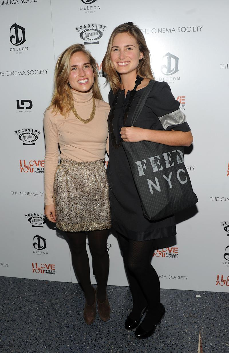 Ashley Bush (L) and Lauren Bush attend a special screening of 'I Love You Phillip Morris' hosted by The Cinema Society and DeLeon Tequila at the School of Visual Arts Theater on November 22, 2010 in New York City. (Photo by Stephen Lovekin/Getty Images) -- Daughter of Neil Bush & Sharon Smith (Bush's first wife)