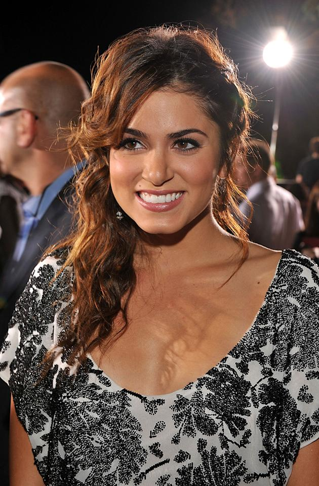 "<a href=""http://movies.yahoo.com/movie/contributor/1808459018"">Nikki Reed</a> at the Westwood premiere of <a href=""http://movies.yahoo.com/movie/1810010670/info"">Twilight</a> - 11/17/2008"