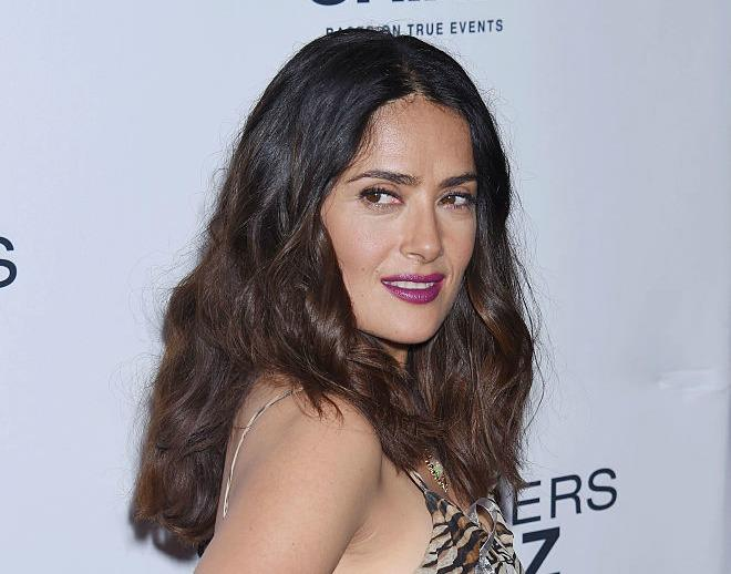Salma Hayek opens up about her body image issues in such a real way