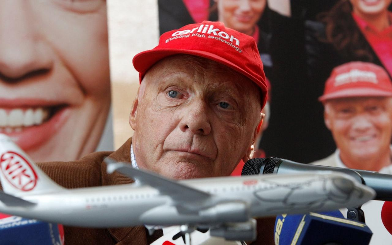 Former F1 driver Niki Lauda skids past rival bidder IAG to secure eponymous airline