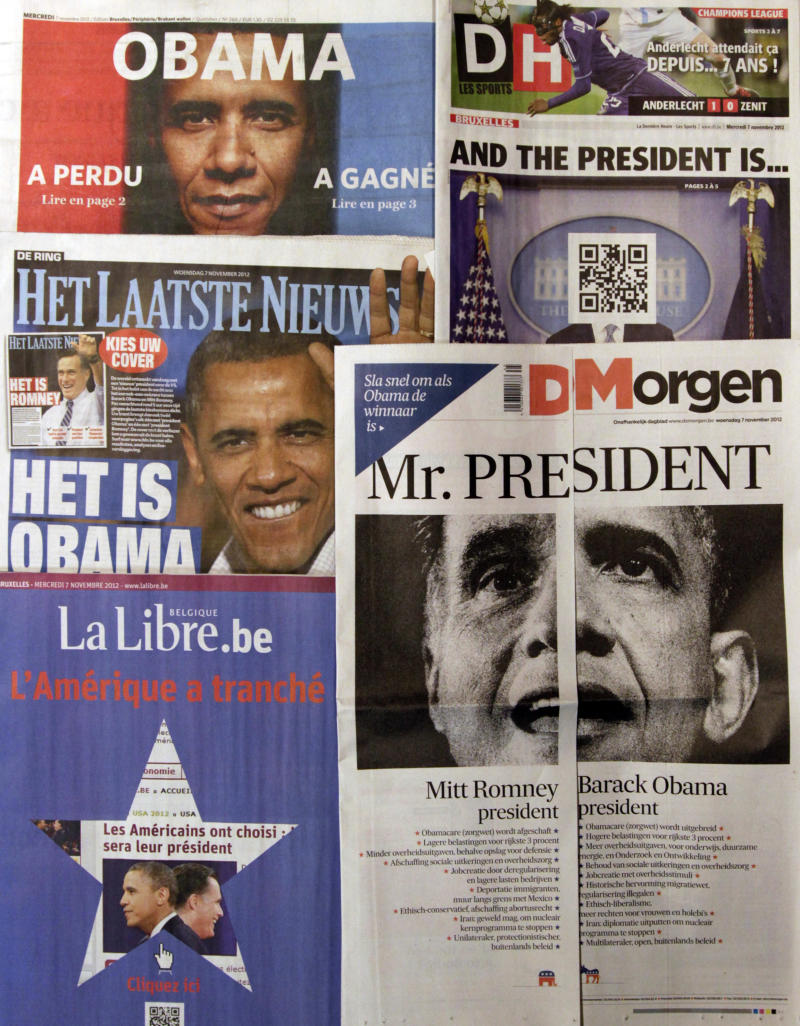 Belgian papers hedge their bets on election result