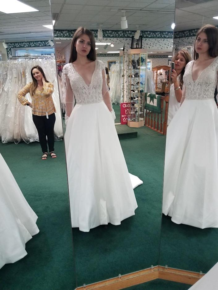 one of first dresses