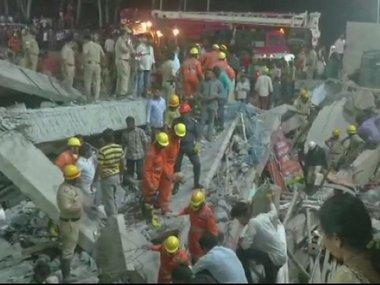 Toll rises to three in Dharwad building collapse: Police say most of the trapped are migrant labours from north India