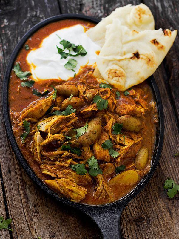 """<p>That bowl of saucy goodness is calling your name.</p><p>Get the recipe from <a href=""""http://www.seasonsandsuppers.ca/indian-spiced-chicken-stew/"""" rel=""""nofollow noopener"""" target=""""_blank"""" data-ylk=""""slk:Seasons and Suppers"""" class=""""link rapid-noclick-resp"""">Seasons and Suppers</a>.</p>"""
