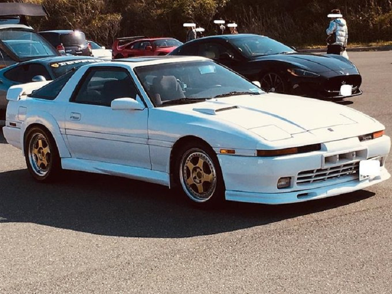 The 1989 Toyota Supra that Leiz wanted to sell for RM102,990 for his pet cat's medical treatment. ― Picture via Twitter/ @Steinmetz_129