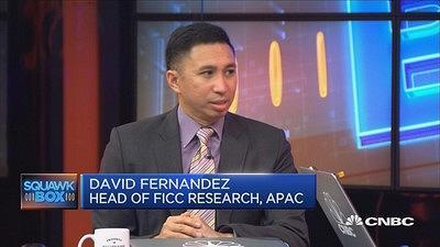 David Fernandez, head of FICC research for Asia-Pacific at Barclays, comments on the economic state of China, in light of recent actions taken by rating agencies. Added comment on currencies.