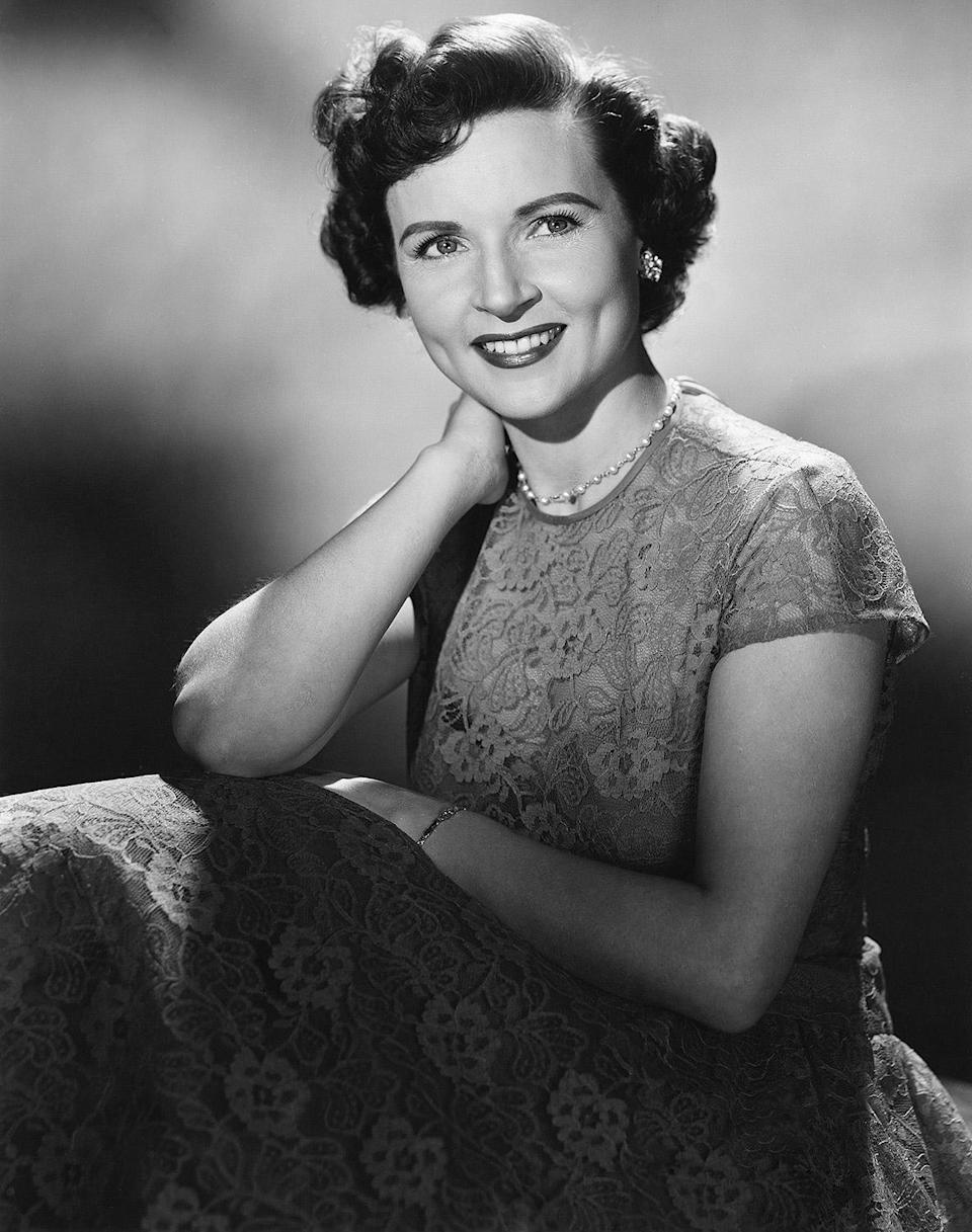 <p>White got her start in radio, beginning with commercials and eventually landing her own program, <em>The Betty White Show. </em>It wasn't until 1949 that she began appearing on television, co-hosting <em>Hollywood on Television </em>with Al Jarvis. </p>