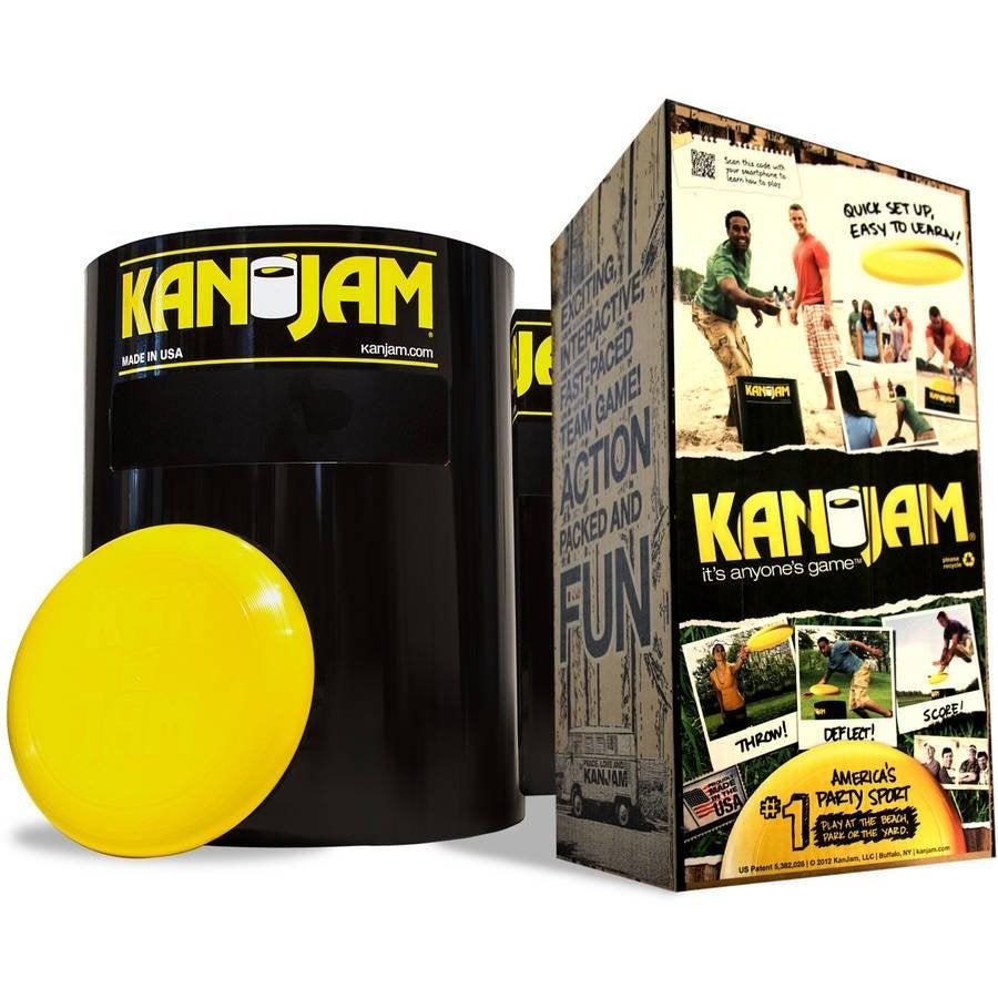 "<h3><a href=""https://www.walmart.com/ip/Kan-Jam-Ultimate-Disc-Game-Original/39493793"" rel=""nofollow noopener"" target=""_blank"" data-ylk=""slk:Kan Jam Ultimate Disc Game"" class=""link rapid-noclick-resp"">Kan Jam Ultimate Disc Game</a></h3> <br>Frisbee fans, this one's for you: Kan Jam includes a goal with an open-top as well as a side slot and depending on how you strike the goal, or if you manage to make the disc in through the slot, you'll score points or win instantly.<br><br><strong>Kan Jam</strong> Ultimate Disc Game, $, available at <a href=""https://go.skimresources.com/?id=30283X879131&url=https%3A%2F%2Fwww.walmart.com%2Fip%2FKan-Jam-Ultimate-Disc-Game-Original%2F39493793"" rel=""nofollow noopener"" target=""_blank"" data-ylk=""slk:Walmart"" class=""link rapid-noclick-resp"">Walmart</a><br>"
