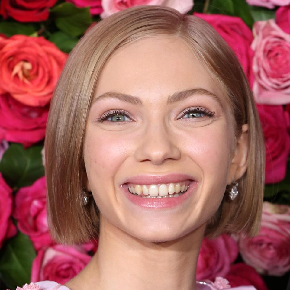 """<p>What makes Tavi Gevinson's bob stand out? The fact that it's super shiny and straight. The <em>Gossip Girl</em> star's hairstyle is a versatile look for any wedding — whether indoors or out, season after season. Years from now, the wedding photos will still look relevant with a style like this <em>and</em> it's low-maintenance so you can focus on other things (like cake and dancing). </p> <p>It may be hard to keep this style looking polished in humid summer weather, but Gallagher has a tip: """"After you dry your hair (make sure <em>all</em> of the moisture is out of the hair), prep it with product."""" Try the <a href=""""https://www.virtuelabs.com/en/polish-unfrizz-cream-4oz.html?g_network=u&g_productchannel=online&g_adid=396962868895&g_acctid=924-518-3880&g_keyword=&g_adtype=&g_keywordid=pla-318468976486&g_ifcreative=&g_campaign=NE+-+Smart+Shopping+-+All+Products&g_adgroupid=76774478541&g_productid=020195&g_merchantid=10537012&g_partition=318468976486&g_campaignid=6971214153&g_ifproduct=product&&g_network=u&g_productchannel=online&g_adid=396962868895&g_acctid=924-518-3880&g_locinterest=&g_keyword=&g_campaign=account&g_adtype=&g_keywordid=pla-318468976486&g_ifcreative=&gclsrc=aw.ds&g_adgroupid=76774478541&g_productid=020195&g_source=%7Bsourceid%7D&g_merchantid=10537012&g_placement=&g_campaignid=6971214153&g_partition=318468976486&g_locphysical=9004401&g_ifproduct=product&gclid=CjwKCAjwruSHBhAtEiwA_qCppkkJYHdr73fM-TDQATFUokaJSiG11c4L6SGmfuGTVf16yYmBCkGJcxoCRR4QAvD_BwE&gclsrc=aw.ds"""" rel=""""nofollow noopener"""" target=""""_blank"""" data-ylk=""""slk:Virtue Un-Frizz Creme"""" class=""""link rapid-noclick-resp"""">Virtue Un-Frizz Creme</a>, a leave-in which creates a barrier around your strands to keep humidity out. """"You could also do a <a href=""""https://shop-links.co/1746299262575689427"""" rel=""""nofollow noopener"""" target=""""_blank"""" data-ylk=""""slk:Magic Sleek treatment"""" class=""""link rapid-noclick-resp"""">Magic Sleek treatment</a> prior to the wedding day if you know that your hair is prone to humidity prob"""