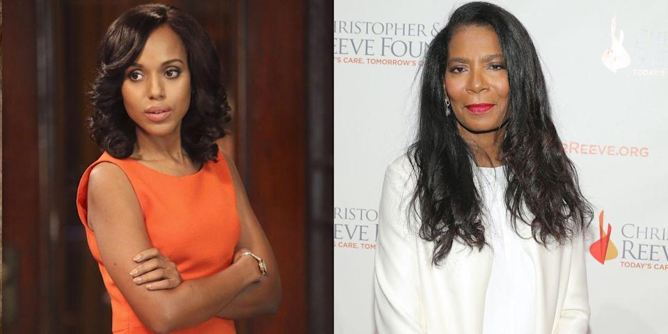 <p>Judy Smith is the real-life Olivia Pope, whom Washington plays on ABC's <em>Scandal. </em></p>