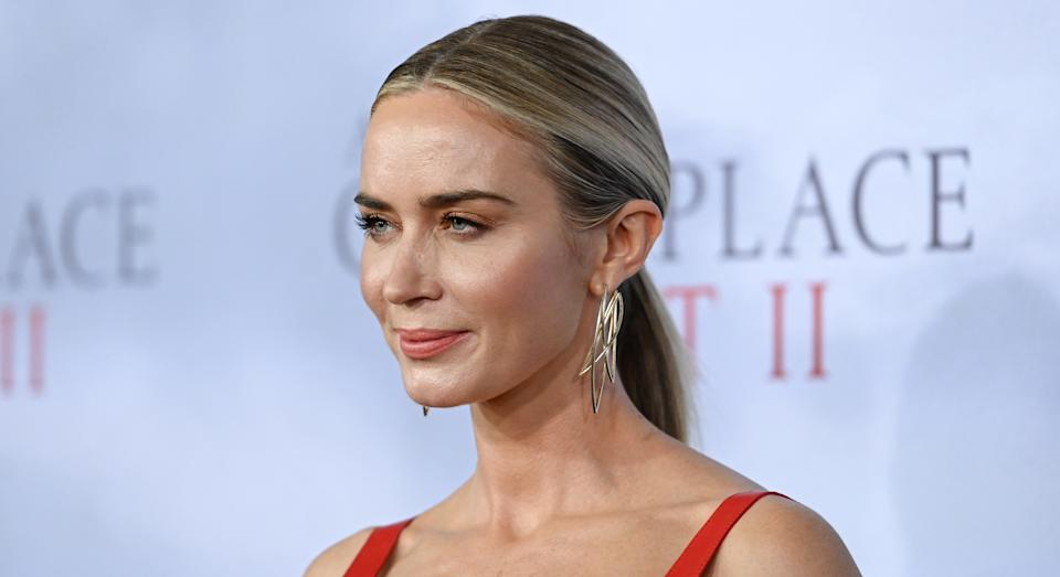 Emily Blunt has opened up about why she's keen to keep her young daughters away from the