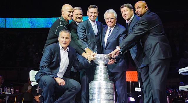 The 1985 Oilers earned our Best NHL Team Ever honours, and it wasn't particularly close. (Getty)