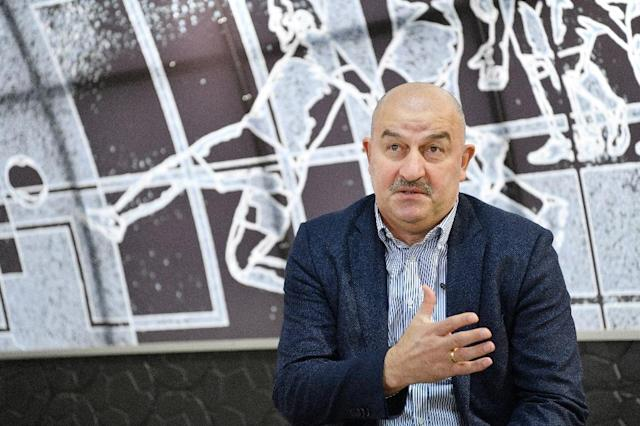 Just two months ahead of the Confederations Cup, Russia national football coach Stanislav Cherchesov is struggling to get his team firing (AFP Photo/Natalia KOLESNIKOVA)