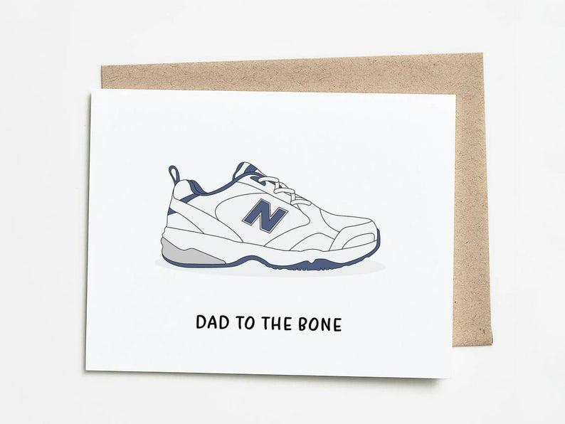 Funny Father's Day Card. Image via Etsy.