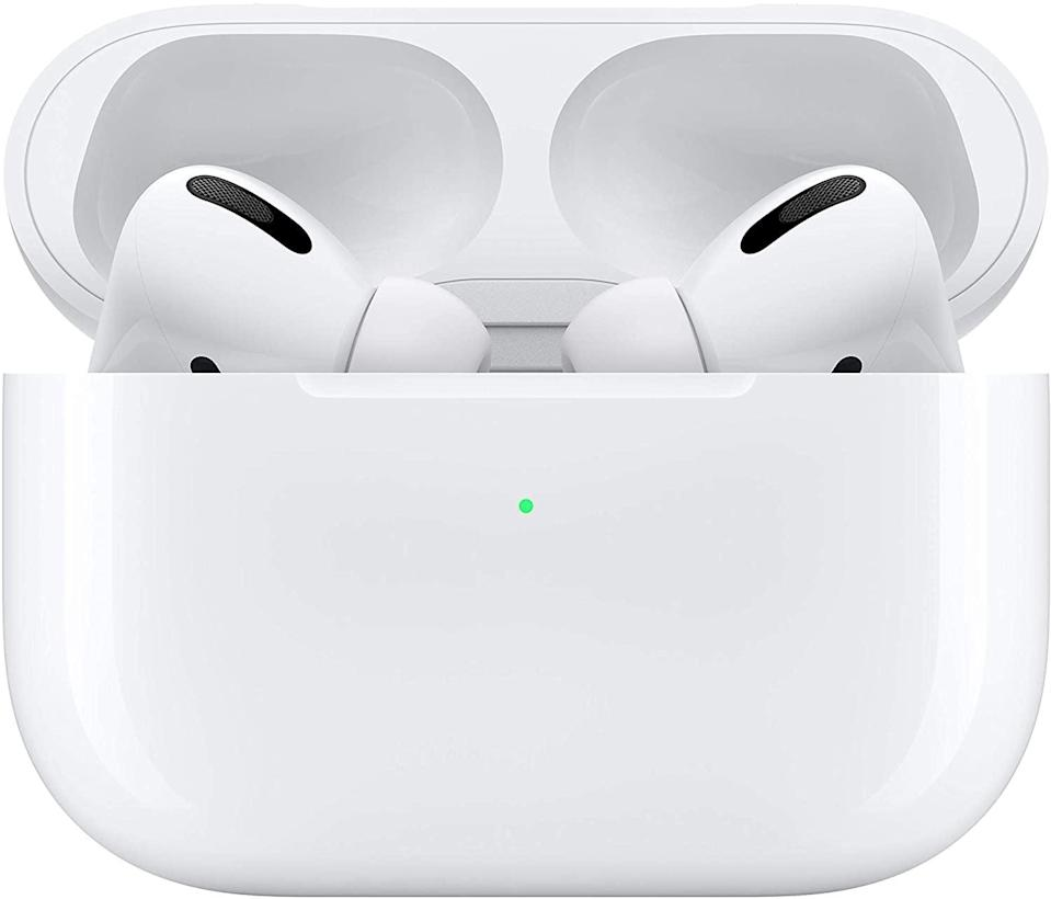 <p>You need a great pair of headphones to hear and speak clearly. We like the <span>Apple AirPods Pro</span> ($217, originally $249).</p>