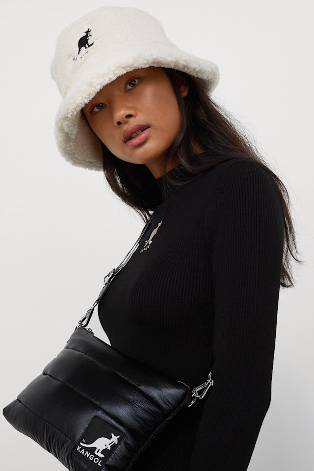 <p>Not just the preserve of Samuel L Jackson, Kangol's bucket hats are a street style stapel, and now that the brand has teamed up with high street giant H&M and singer Mabel, there's a new collab on the block, ready to kit you out for a cosy-but-cool Autumn. </p><p>'I am so excited about this collaboration with Kangol and H&M! Streetwear is in my blood and Kangol is such a legendary brand. It's amazing to collaborate with Kangol and H&M, and to share my creativity and my style with a new generation,' says singer Mabel of her involvement in the project. </p><p>'Kangol x H&M feat Mabel is a dream collaboration for us at H&M, uniting an iconic streetwear brand with one of the most authentic and genuine young music artists around. It's about that 90s streetwear attitude updated for today, a style that Mabel has made her own. There are so many hits, from the famous bucket hat, to the slim midi dress and autumn's hero piece, the puffer jacket,' says Emily Björkeheim, H&M's Head of Design Divided.</p><p><strong>With the pieces imminently available, earmark your faves from our ELLE edit of the collection now...</strong></p>
