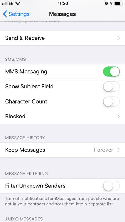 How to block text messages on iOS and Android