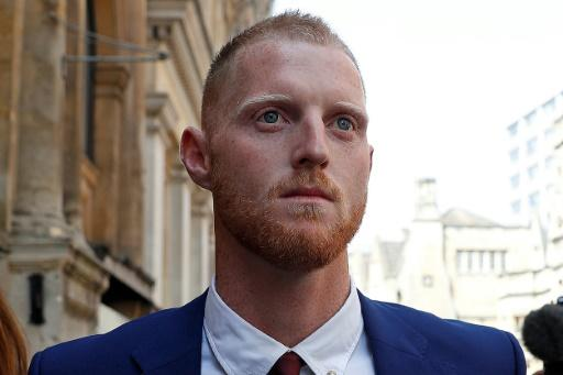 England cricketer Ben Stokes leaves Bristol Crown Court on August 6