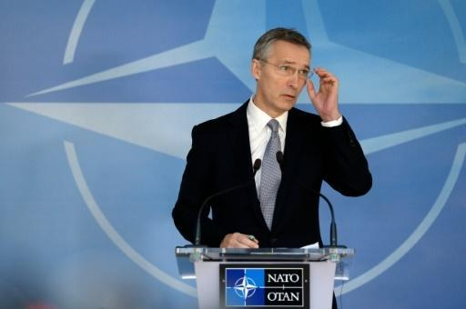 NATO sends 'clear signal' with eastern presence: Stoltenberg