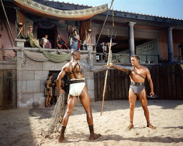 A publicity still issued for the film, 'Spartacus', 1960. (Silver Screen Collection/Getty Images)