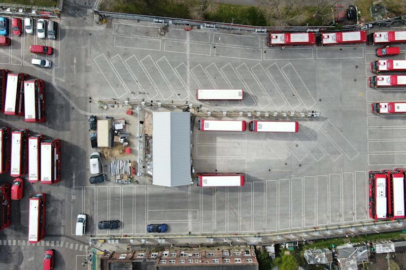 Northumberland Park bus garage is to become the world's largest trial site for generating electricity from parked vehicles: PA