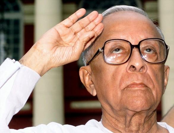 Jyoti Basu, chief minister of India's West Bengal state
