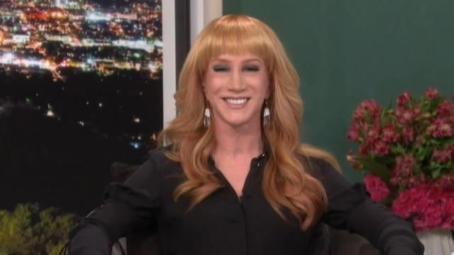 "Kathy Griffin sat in on E!'s <em>Fashion Police</em>, taking over for the late comedian Joan Rivers – and the results were almost exactly how most imagined it: She did a good job, but Joan's absence still spoke louder than most of Kathy's jabs. Kathy brought her acerbic wit to the discussion, and was able to dish out biting criticism, but she was at a loss for words or insight when there wasn't anything to rip apart. <strong> NEWS: The Best TV Surprises from the 2015 Golden Globes! </strong> The show examined some of the best and worst styles on the Golden Globes red carpet, and for the first half of the episode the panel – which included Giuliana Rancic, Kelly Osbourne and Brad Goreski –discussed the night's hottest styles, leaving Kathy to snark about how bored she was of stars always looking gorgeous. And when she couldn't insult someone, she shoehorned in an awkward sex joke. But when she finally got the chance to lay into the stars, Kathy shined. <strong> PHOTOS: ETonline's Best & Worst Golden Globes Gowns </strong> She ripped into some of the most beloved stars, saying Tina Fey's red carpet dress was a ""disaster,"" and that the Globes co-host looked like ""she was given an allowance for the first time when she was 16 years old and bought the craziest dress she could."" She had no love for Scandal star Kerry Washington's two-tone purple dress either, quipping, ""It looks like one of those projects that would have [gotten] someone [kicked off] Project Runway."" At the end of the episode, it came time for the <em>Fashion Police</em> panelists to name the best and worst dressed celebs of the evening. <strong> NEWS: Amal Clooney Makes Her Awards Show Debut in White Opera Gloves </strong> Kathy named Jennifer Lopez as the night's best-dressed star, saying, ""My inner gay-boy just loves it. I love the danger. I almost saw c**ch."" When it came to the worst dressed, Kathy took on the one star from the Golden Globes that America fell in love with: George Clooney's wife Amal. She took Amal to task for her ill-fitting white gloves which Kathy called, ""Bovine insemination gloves."" While Kathy played it safe, it's clear she has potential to grow. Only time will tell if she can begin to fill the void Joan left behind, but with some time and development, <em>Fashion Police </em>might be firing on all cylinders again soon. For more on the Golden Globes' red carpet fashions, check out the video below for a look at the best and worst looks of the night."