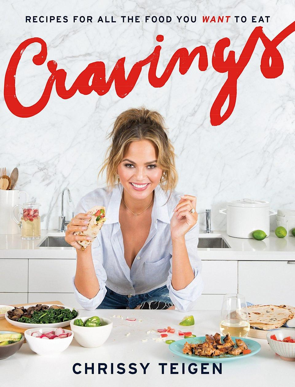 "<p>""[Chrissy Teigen] has the best recipes for everything, and I think it's a cool gift for foodies, or for someone who loves spending time in the kitchen. It's also a great gift for anyone who wants to learn how to cook!""</p> <p><strong>Buy It!</strong> $16.85; <a href=""https://www.amazon.com/Cravings-Recipes-All-Food-Want/dp/1101903910/ref=asc_df_1101903910/?tag=hyprod-20&linkCode=df0&hvadid=265933302123&hvpos=&hvnetw=g&hvrand=7190311282496018637&hvpone=&hvptwo=&hvqmt=&hvdev=c&hvdvcmdl=&hvlocint=&hvlocphy=9067609&hvtargid=pla-404294405446&psc=1"" rel=""nofollow noopener"" target=""_blank"" data-ylk=""slk:amazon.com"" class=""link rapid-noclick-resp"">amazon.com</a></p>"