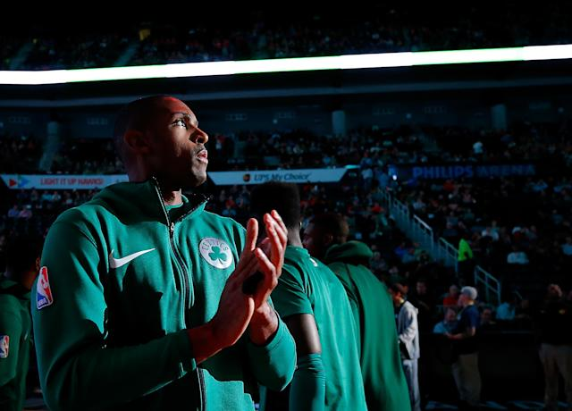 """<a class=""""link rapid-noclick-resp"""" href=""""/nba/players/4245/"""" data-ylk=""""slk:Al Horford"""">Al Horford</a>'s strong start to the season has hit a scary speed bump. (Getty)"""