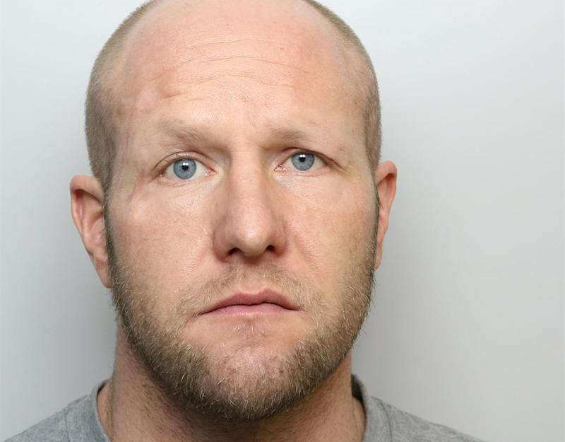 Kevin Lemm, 37, attacked the 60-year-old woman as she walked home from the pub in Castleford, West Yorkshire. (SWNS)