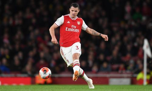 'I am not a guy who runs away': Xhaka proud of restoring Arsenal reputation