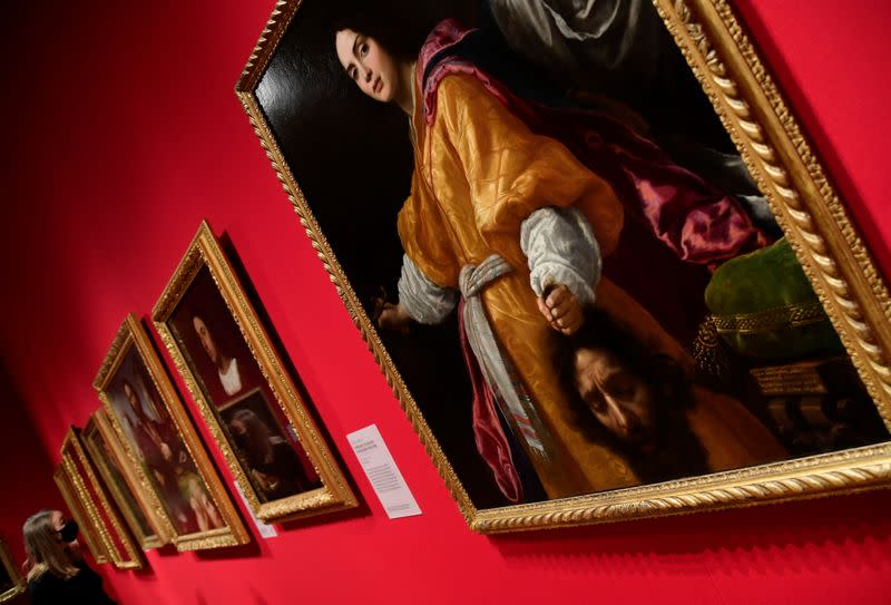 """Exhibition of Old Masters paintings """"Masterpieces from Buckingham Palace"""" at The Queen's Gallery, Buckingham Palace, London"""